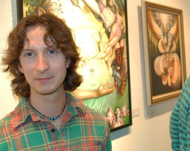 Cody at the International Visions Gallery, Washington DC