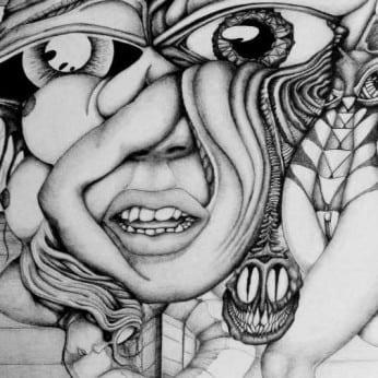 Female with Psychic Virus