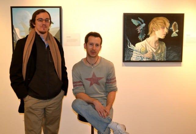 Man standing next to Cody